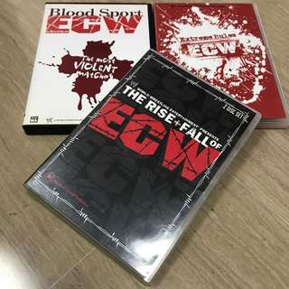 WWE Dvds ECW Blood Sport, Extreme Rules n Rise + Fall of ECW Set of 3