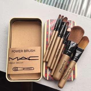 MAC Tribal 7 Makeup Brush Tin Can / Kuas Makeup Kaleng MA