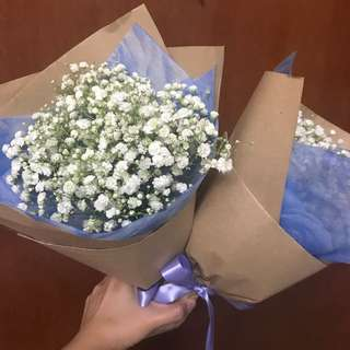 Baby Breath Bouquet (small)