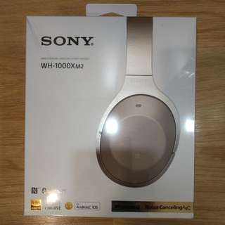 Sony [Sealed] WH-1000X M2 wireless noise cancelling Bluetooth Headphone