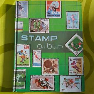 Stamp Ablum Full Of Malaya Stamp