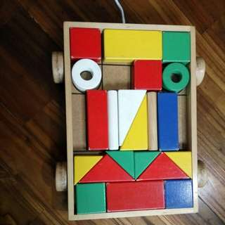 Blocks and cart