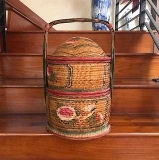 Antique Woven Basket