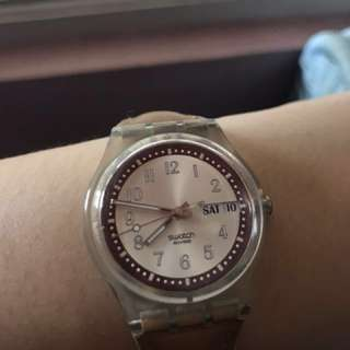 Swatch leather brown