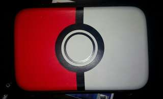 Pokeball 3ds hori pouch for N3dsXL