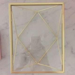 Umbra brand gold photo frame