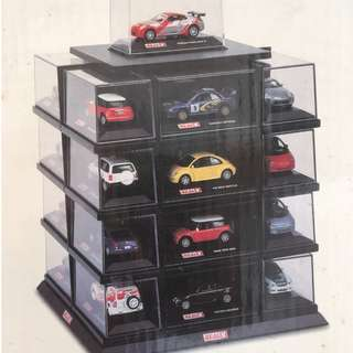 Real-X 1/72 Diecast Car Display Case