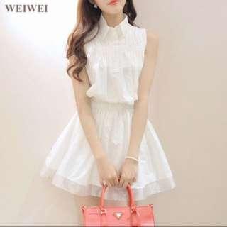🚚 全新🌈白洋裝#大掃除五折
