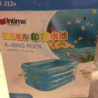 Intime Plastics - 4 Rings Pool
