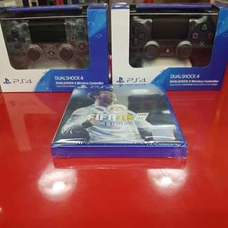 PS4 Wireless Controller and  ps4 fifa 18