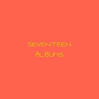[ CHEAP ] SEVENTEEN ALBUMS