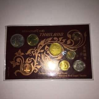 全新 一套八枚 泰銖 泰國硬幣套裝