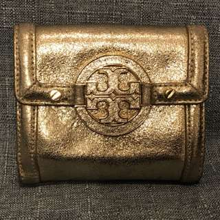 Tory Burch gold wallet 金色銀包