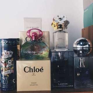 US Tester Perfumes