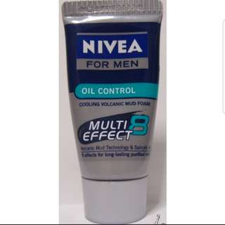 Nivea oil control mud foam multi effect 8