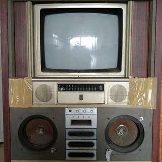 古董將軍牌電視機