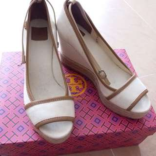 Tory Burch platform shoes 船跟鞋 36
