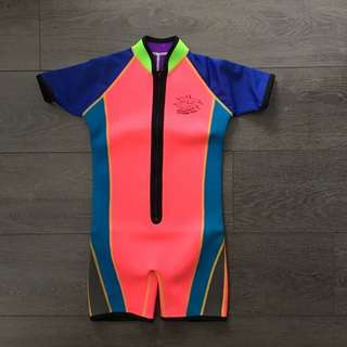 Thermal Swimwear (Seapro Extreme Suit, Size 7)