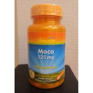 🚚 「自己有吃才團購」Thompson Maca 馬卡 瑪卡 525mg 60顆
