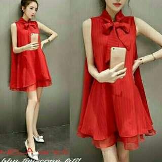 SagelShop - Dress MD NELA RED GU