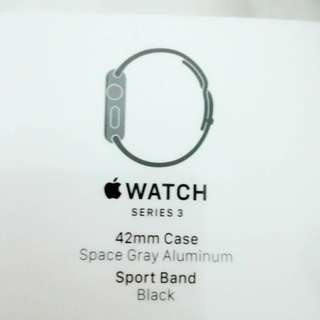 Apple watch series3 set to selling..
