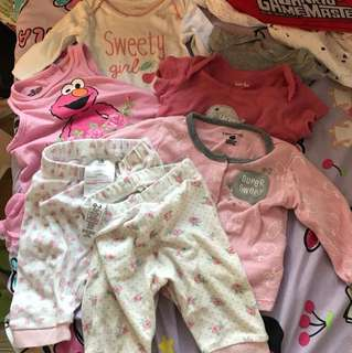 $30 for all (7items) carter's/sesame street/yampi/petitlem/Disneybaby/George