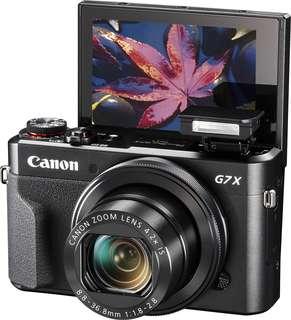 Canon G7X Mark ii Kredit bunga 0,99% Proses 3 Menit aja
