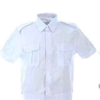 全新制服白恤衫 多碼