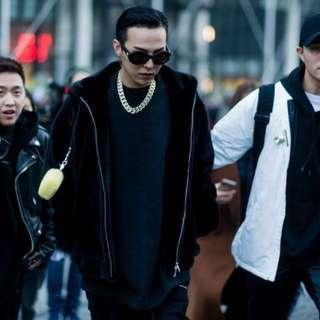 GD同款外套 仿水貂毛 連帽外套 刷毛 羊羔絨 珊瑚絨 非 Uniqlo Nike Adidas supreme