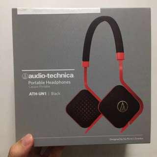 全新未拆封 Headphone ath-un1 black(原價450, 現價150)