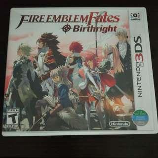[Game 3ds] Fire Emblem Fates Birthright