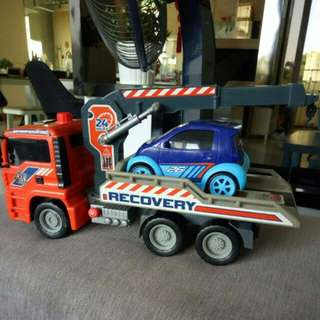 Air Pump Recovery Truck