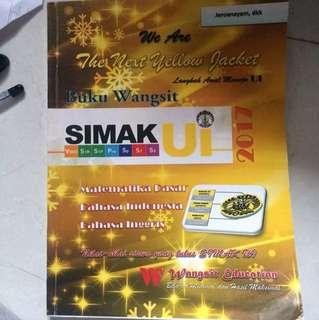 WANGSIT SIMAK UI MATDAS,B. INDO,B. INGGRIS 2017