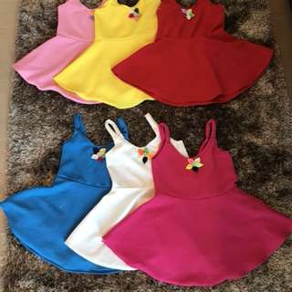 Kid dress 👗 fits to 2-3 years old/contact #09956396640
