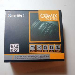 Commlite electronic EF-NEX adaptor