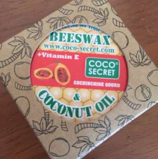 Beeswax virgin coconut oil spf 15 Vietnam