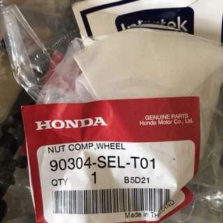 Honda wheel nut