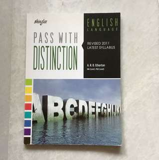 Shinglee English Pass with Distinction