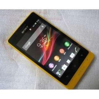 Sony Xperia Go ST27i 500万像素Android 2.37双亥心内置8Gb黄色智能手機
