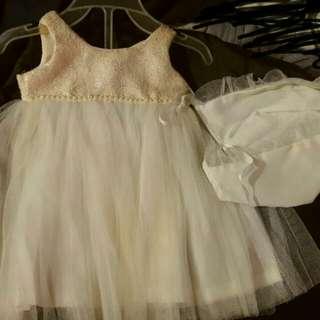Preloved Baptismal Dress