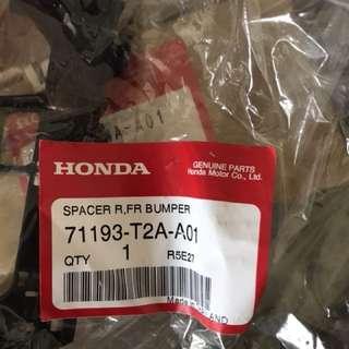 Honda bumper spacer