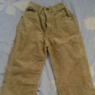 Long pants for kids