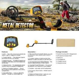 SHUOGOU Metal Detector MD9020C Professional High Sensitivity Waterproof Underground Metal Detector Jewelry Hunting Treasure Search colour LCD Display