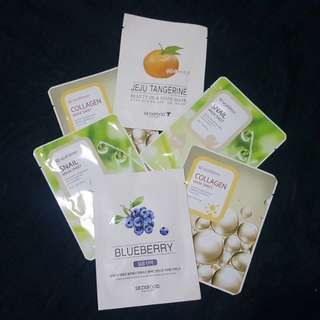 Face Masks from Korea plus freebies