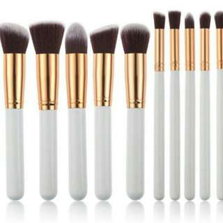 kuas make up brush 10 pcs