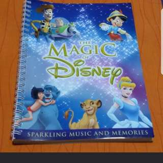 Disney Magic Note Book