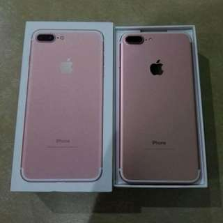 Iphone 7plus rosegold 32gb (factory unlocked)