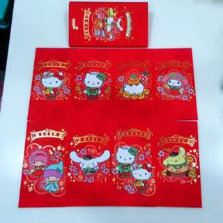 2018 One Box Singapore Changi Airport Sanrio Characters Red Packets