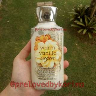 Bath & Body Works Body Lotion - Warm Vanilla Sugar #cintadiskon