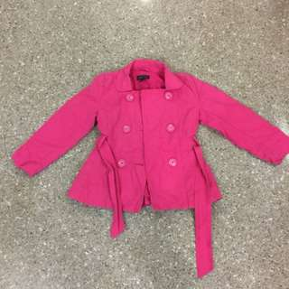 Pink Winter jacket (5T or 110 cm)